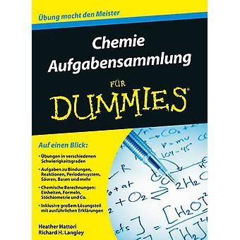 Chemie Trainingsbuch Fur Dummies by Heather Hattori - Richard H. Lang