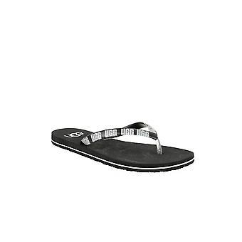 UGG Simi Graphic 1099831BLK zapatos universales de verano para mujer