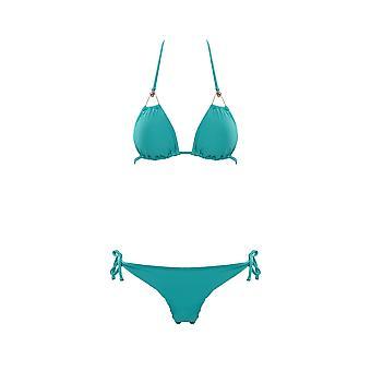 Paramidonna Wg010606 Dames's lichtblauwe nylon bikini
