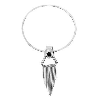 Dames Solid State Chunky stijl statement Chunky driehoek ketting