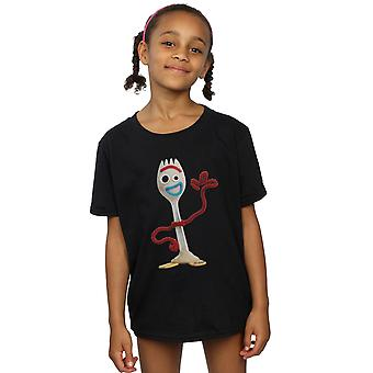 Disney Girls Toy Story 4 Forky T-Shirt