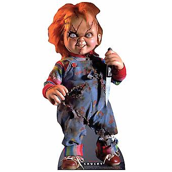 Scarred Chucky from Bride of Chucky Official Lifesize Cardboard Cutout / Standee