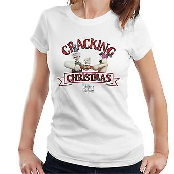 Wallace And Gromit Cracking Christmas Women's T-Shirt