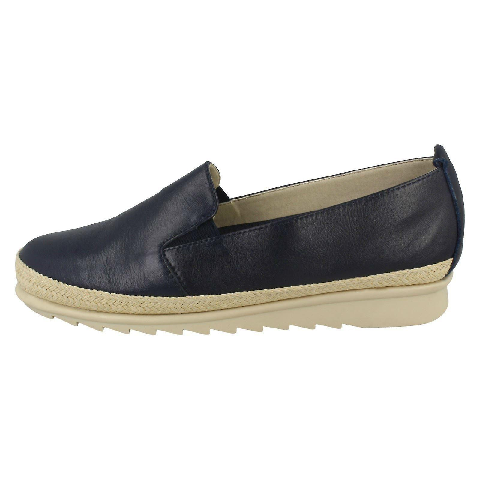 Ladies Padders Espadrille Detailed Shoes Haze