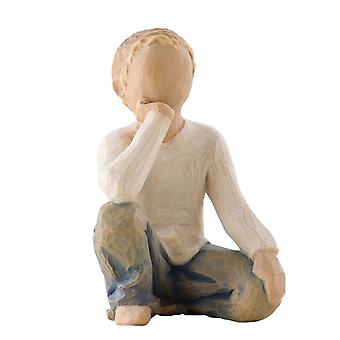Willow Tree Inquisitive Child Hand Painted Figurine
