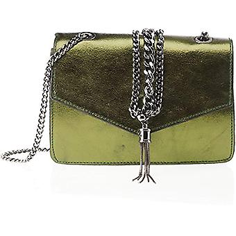 Chicca Bags 1622 Green Women's Shoulder Bag 22x16x6 cm (W x H x L)