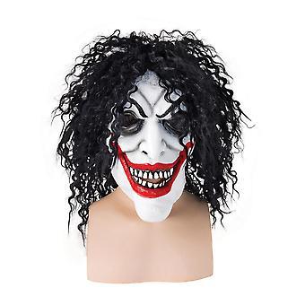 Bristol Novelty Unisex Adults Halloween Smiling Man Rubber Head Mask