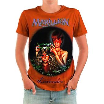 Born2rock-lavendel-Marillion heren ' s t-shirt