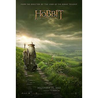 The Hobbit An Unexpected Journey Poster Double Sided Advance (2012) Original Cinema Poster
