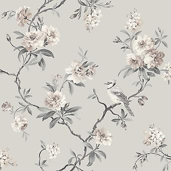 Chinoiserie Bird wallpaper Fine decor