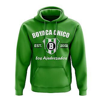 Boyaca Chico etablerte fotball Hoody (grønn)