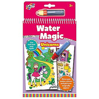 Galt Water Magic - Unicorns - Re-usable Colouring Book