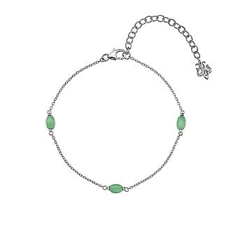 Anais Hot Diamonds Anais March Green Aventurine Bracelet AB003