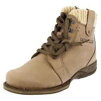 Ladies Caterpillar Lace Up Boots Nettie