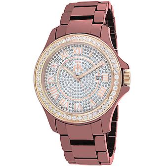 Jivago Women's Ceramic Crystals Dial Watch - JV9416
