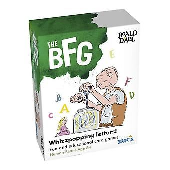 The BFG Whizzpopping Letters 3 card games Key stage 1 2 Age 6+ Spelling
