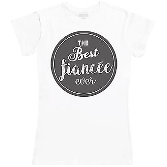 THE Best Ever Fiancee - Womens T- Shirt
