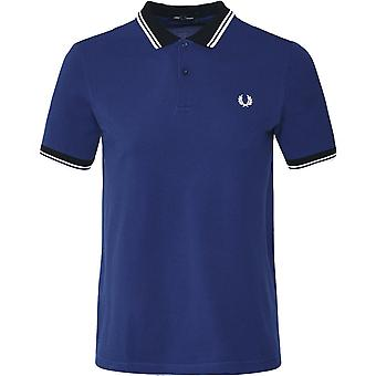 Fred Perry Contrast Trim Twin Tipped Polo Shirt M7589 126