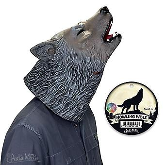 Cosplay - Archie McPhee - Mask - Howling Wolf Costume Head Face 12599