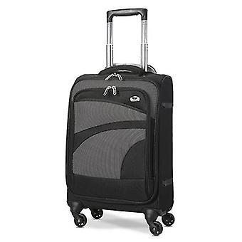 Aerolite (47x35x20cm) equipaje de mano ligero de la cabina de la cáscara suave 4 ruedas
