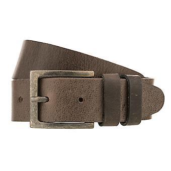 Teal Belt Men's Belt Leather Belt Jeans Belt Grey 8418