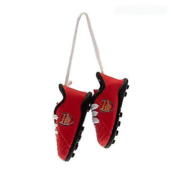 Arsenal FC Official Football Boots Car Mirror Hanger