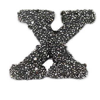 Glitter Alphabet Sticker - X