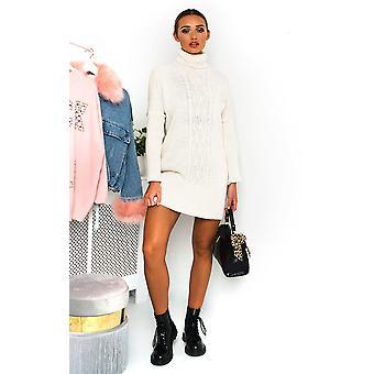 IKRUSH Womens Robyn Knitted Jumper Dress