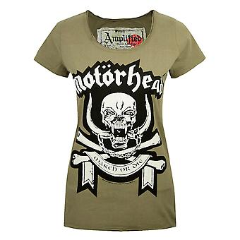 Amplified Motorhead March Green Women's T-Shirt