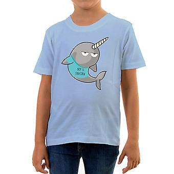 Reality glitch not a unicorn kids t-shirt