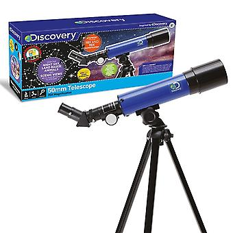 Discovery 50mm Astronomical Telescope With Tripod Ages 8 Years+