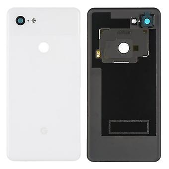Google akku kansi Pixel 3 XL valkoinen kirkas valkoinen akku kansi varaosa takakansi kansi akku