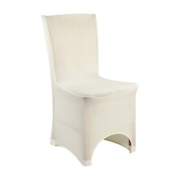 Ivory Spandex Chaise Cover Lycra couverture