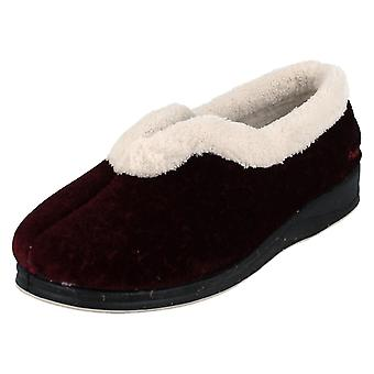 Ladies Padders Dual Fit Slippers Paloma