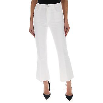 J Brand Jb002474aj9 Dames's White Cotton Jeans