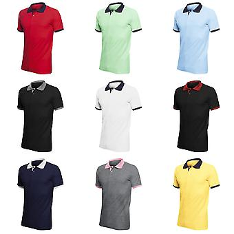 SOLS Prince Unisex Contrast Pique Short Sleeve Cotton Polo Shirt