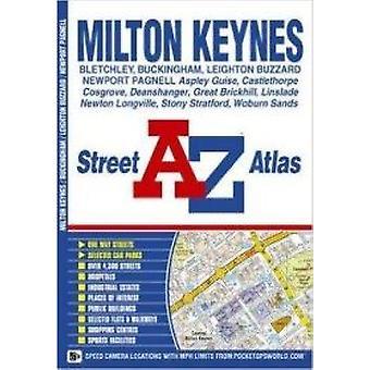 Milton Keynes Street Atlas (5) by Geographers A-Z Map Co. Ltd. - 9781