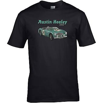 Austin Healey 50s Classic - Bilmotor - DTG Tryckt T-shirt