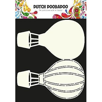 Olandese Doobadoo Dutch Card Art Stencil Airballoon A4 470.713.630