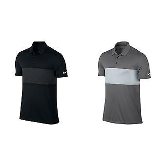 Nike Мужская дышать цвет блока короткие рубашки поло
