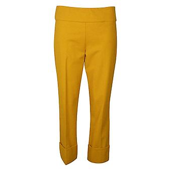 Up! Dijon Yellow Thincredible Tummy Control Pull On Trousers