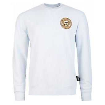 Versace Jeans Couture Embroidered Head Logo Sweatshirt