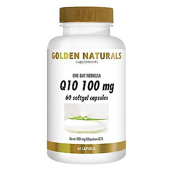 Golden Naturals Q10 100 mg (60 softgel capsules)
