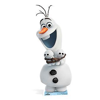 Olaf fra frosne feber Disney papp åpning / Standee