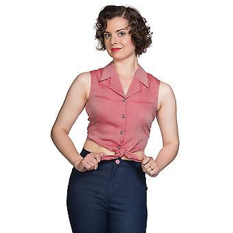 Banned Textured Tie Shirt
