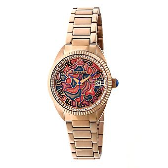 Empress Helena Bracelet Watch w/Date - Rose Gold