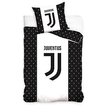 Juventus Black And White Duvet Cover Bed Set 140x200+70x90 cm