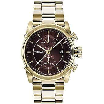 Reloj de los hombres de Versace cronógrafo urbano VEV400619 acero inoxidable