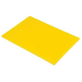 Hygiplas Low Density Yellow Chopping Boards