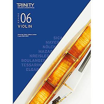Trinity College London Violin Exam Pieces 2020-2023 - Grade 6 by Trini